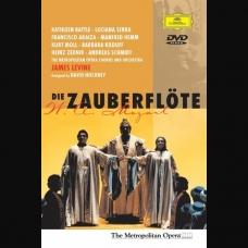 MOZART:FLAUTA MAGICA-BATTLE/SERRA/LEVINE (DVD)