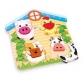 ARTICULOS ANIMALES:PUZZLE DE METER ANIMALES / STECK-PUZZLE