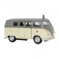 ARTICULOS REGALO:COCHE MINIATURA VW CLASSICAL BUS - AMBULANC