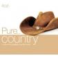 VARIOS - PURE...COUNTRY (4CD) -IMPORTACION-