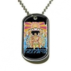 JIMI HENDRIX=DOG TAG=AXIS BOLD AS LOVE (COLGANTE) -IMPORTACI
