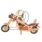 ARTICULOS REGALO:MOTO HARLEY MAD INDO 35 CM