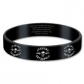 ARTICULOS REGALO:AVENGED SEVENFOLD=GUMMY-DEATH BAT(PULSERA)