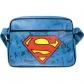 ARTICULOS REGALO:SUPERMAN=BAG RETRO=-LOGO (BOLSO)
