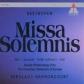 BEETHOVEN:MASS IN C MISA SOLEMNIS/MOL/LIPOVSEK/CO OF EUROPE/