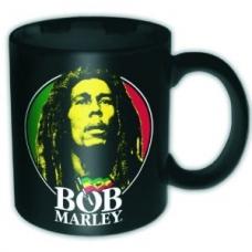 BOB MARLEY=MUG=-FACE LOGO (TAZA) -IMPORTACION-