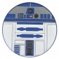 STAR WARS =COASTER=-R2-D2 FASHION (POSAVASOS)-IMPORTACION-