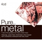 VARIOS - PURE...METAL (4CD)