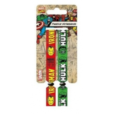 ARTICULOS REGALO:MOVIE=WRISTBAN IRON MAN & HULK 2 (PULSERA)
