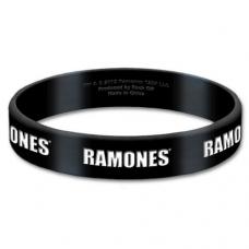 RAMONES:=GUMMY WRISTBAND=-LOGO (PULSERA)