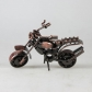 ARTICULOS REGALO:MOTOCICLETA METAL 17X17CM