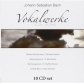 BACH, JOHAN SEBASTIAN -VOKALWERKE, WOCALWORKS (10CD WALLET B