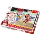 ARTICULOS REGALO:MINNIE MOUSE PUZZLE INC. TATUAJES/MINNIE