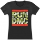 RUN DMC:=SHIRT=CAMO LOGO -L- BLACK (CAMISETA) -IMPORTACION-
