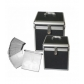 MUEBLES ACCESORIOS AUDIO VIDEO:MALETA DJ 120 CD NEGRA