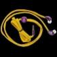 ELECTRONICA:GRIXX OPTIMUM AURICULAR IN-EAR CORDON PURPURA/AM