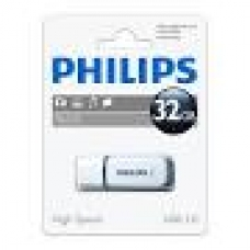 ELECTRONICA:PHILIPS USB 2.0 32GB SNOW GREY (PEN-DRIVE)