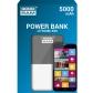 ELECTRONICA:GR POWER BANK V4 GRAPHITE 5000 MAH (BATERIA EXTE