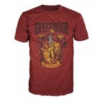 ARTICULOS REGALO:HARRY POTTER = T-SHIRT=-GRIFFINDOR -L-BURBU
