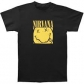 NIRVANA:T=SHIRT=-BOX SMILEY -L- BLACK (CAMISETA)