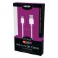 ELECTRONICA:GRIXX OPTIMUM CABLE MICRO USB NYLON 1M BLANCO