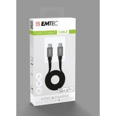 ELECTRONICA:EMTEC CABLE USB-A TO TYPE-C T700