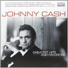 JOHNNY CASH:GREATEST HIT AND FAVORITES (180GR.) -2LP- (IMPO