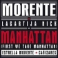 ENRIQUE MORENTE & LAGARTIJA NICK:MANHATTAN(NEG.ROJ.BL 7RSD2