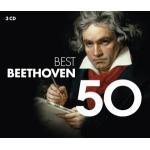 BEETHOVEN, L.VAN : VARIOS - 50 BEST BEETHOVEN (3CD) -IMPORTA
