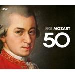 MOZART, W.A. : VARIOS - 50 BEST (3CD) -IMPORTACION-